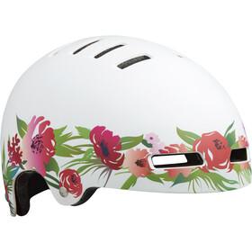 Lazer Street+ Cykelhjelm Børn, matte flower pink-white